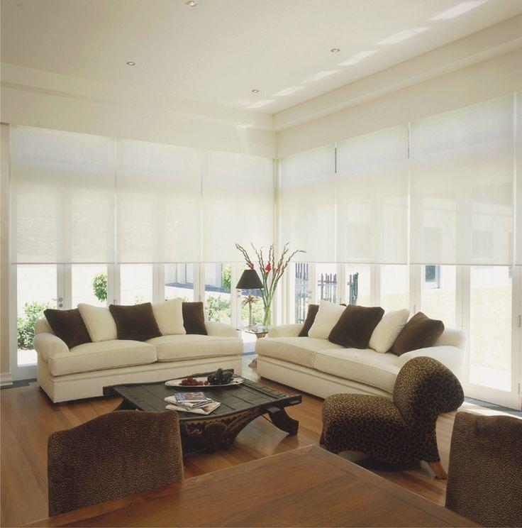 persianas blancas te ayuda ampliar espacios