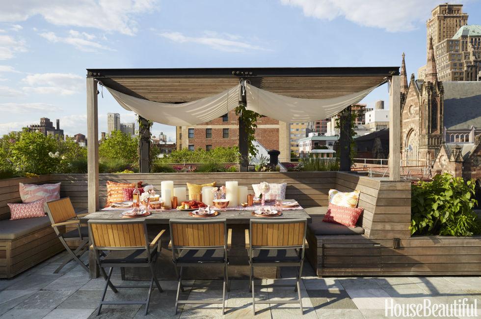 comedores para terrazas