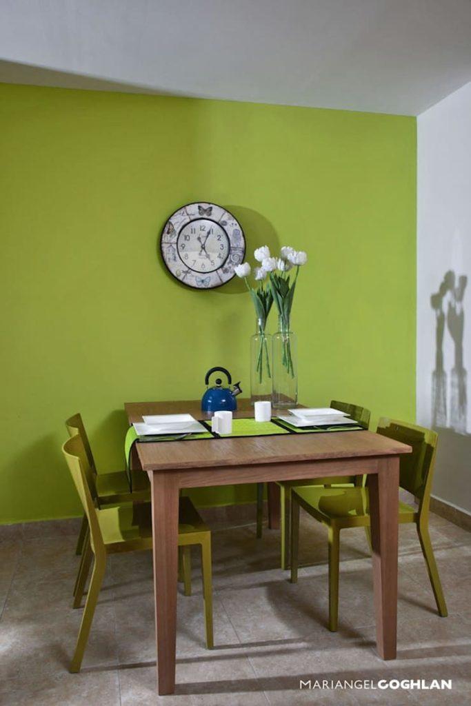 colores Verde en el diseño interior Mariangel Coghlan