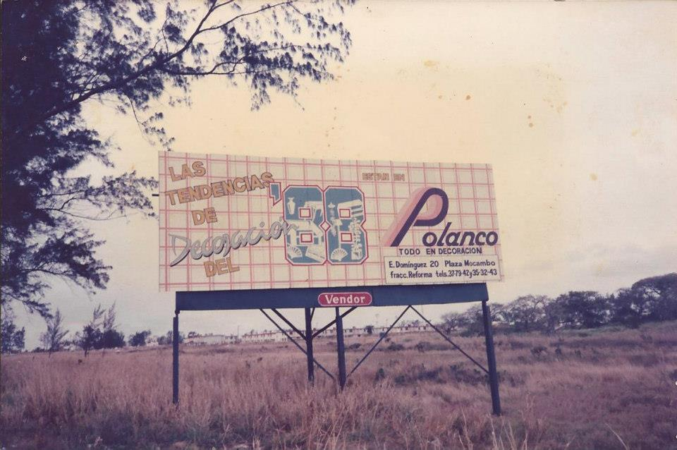 Anuncio Panorámico de Polanco- 1988
