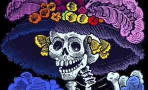 calaverita literaria en interiorismo celebra dia de muertos