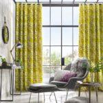 Telas diseños de invierno verde vibrante Decosimil - muebles
