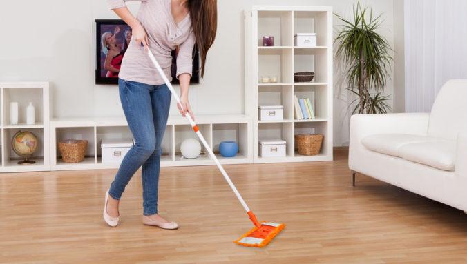cuidado de piso laminado