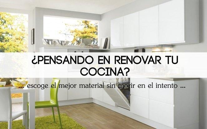 renovando tu cocina