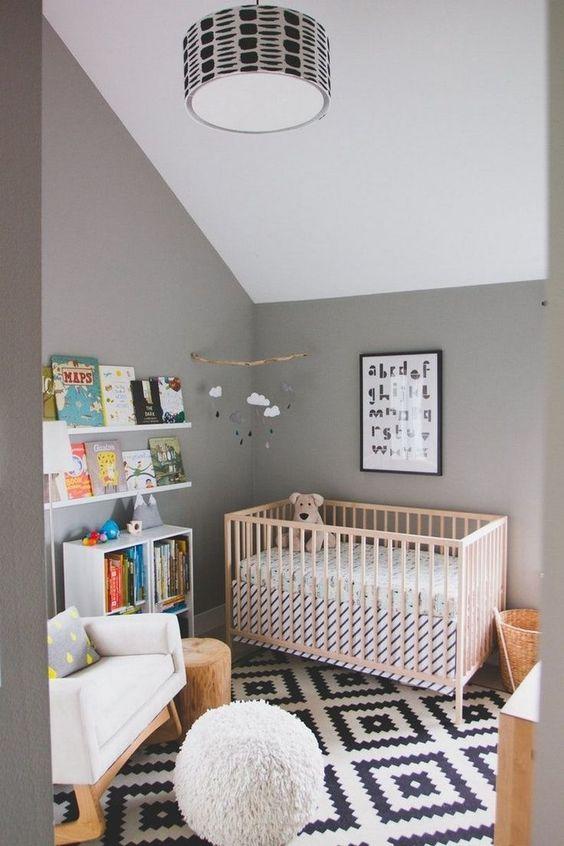 cuarto de bebé cuántos rollos de papel tapiz