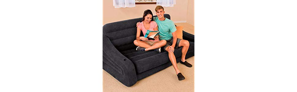 Sofa inflable intex _ideal_para_visitas