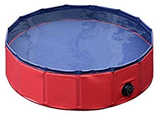 Pawhut Foldable PVC Pet Swimming Pool- prefieres poner una piscina natural ?