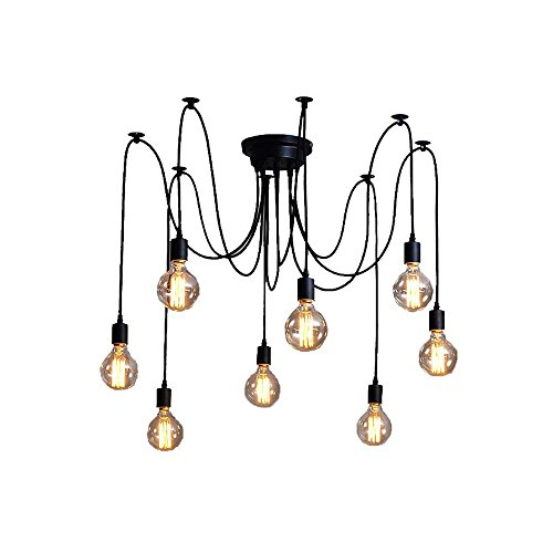 Antique Chandelier Modern Chic Industrial Dining Light