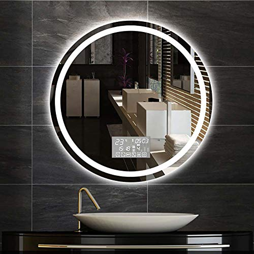 Espejo Inteligente luz led Impermeable antiniebla baño