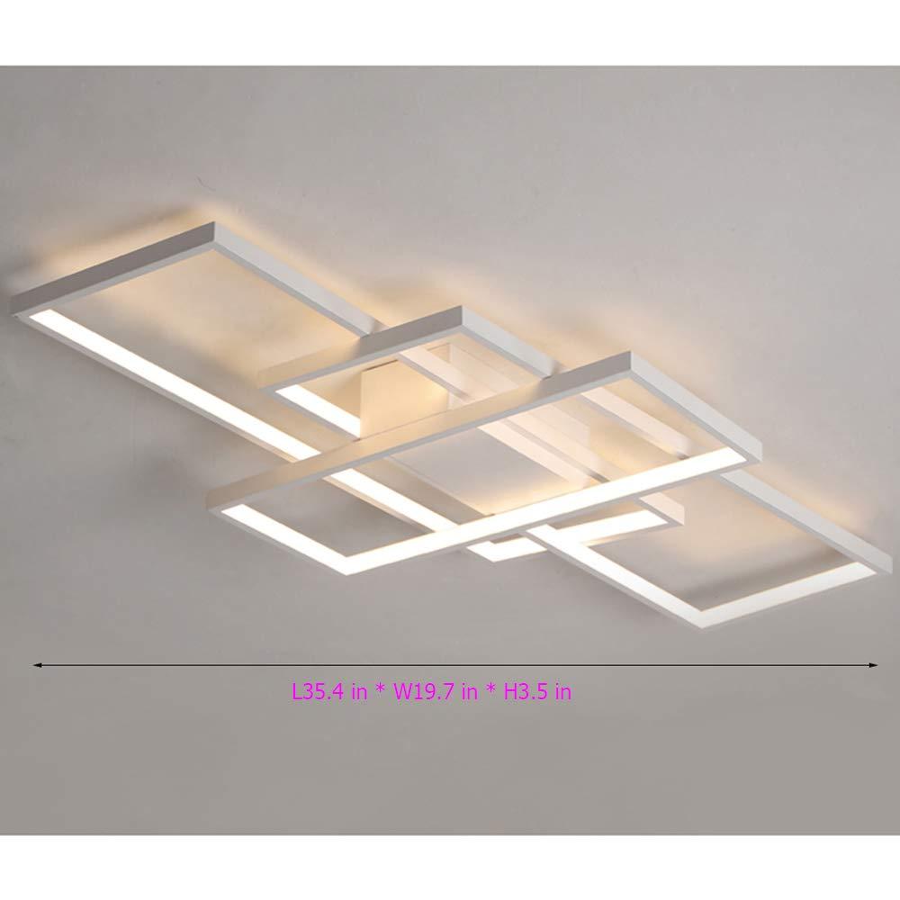 Lámpara Techo LED Medidas