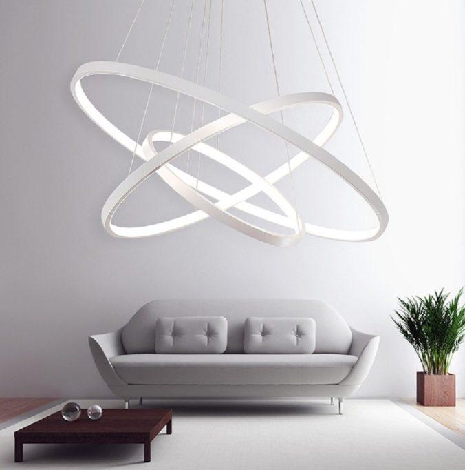 LED Lámpara 3 anillos portada