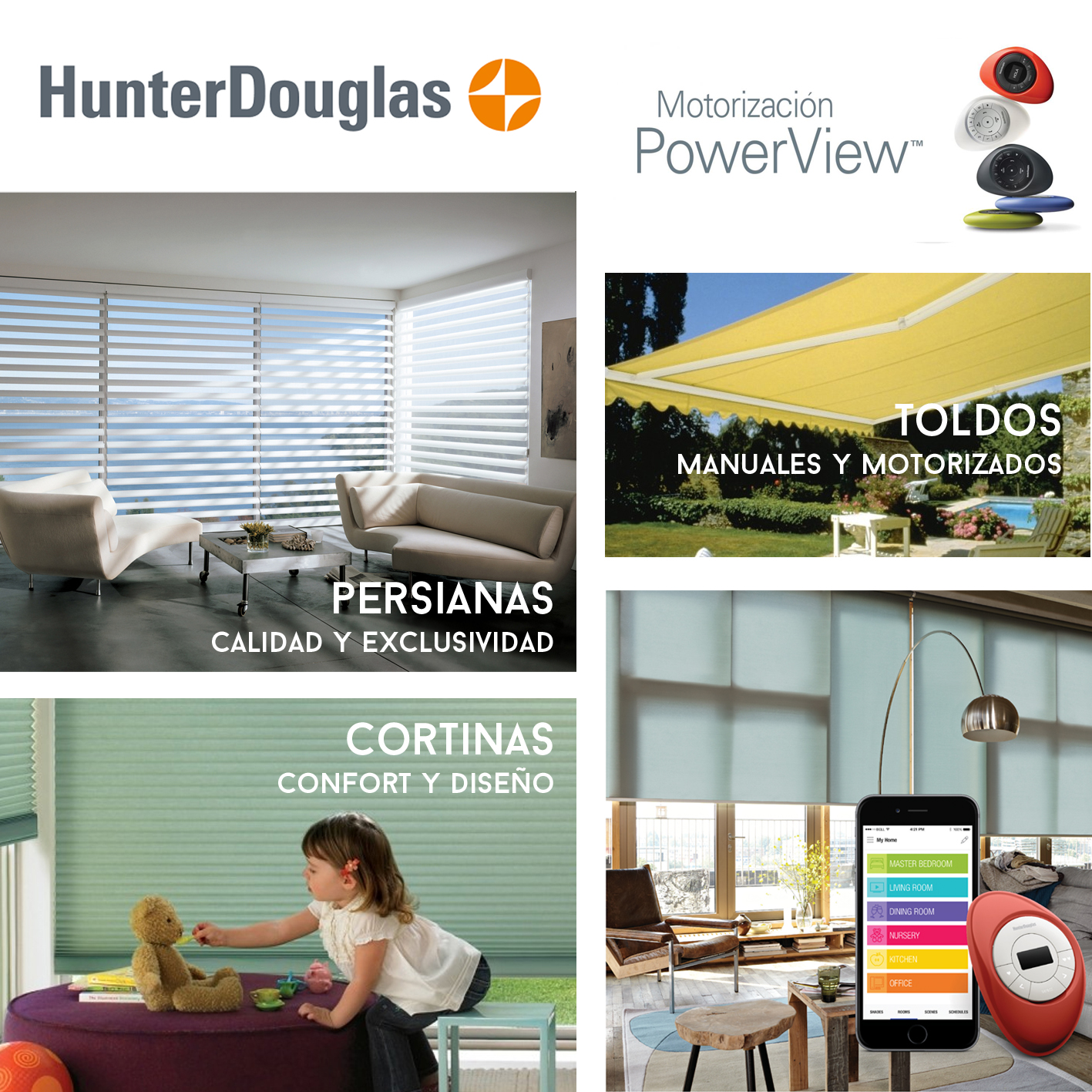 3 hunter douglas