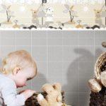 papel tapiz estimula a tu bebé