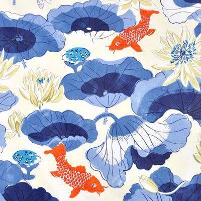 azul con naranja papel tapiz
