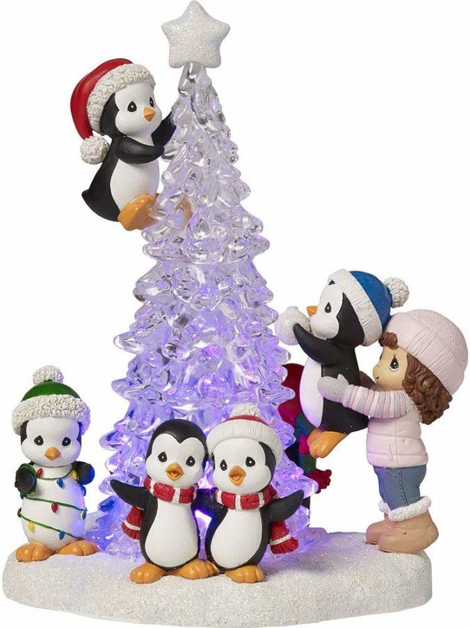 Accesorio Decorativo Navidad Pinguinos 2019
