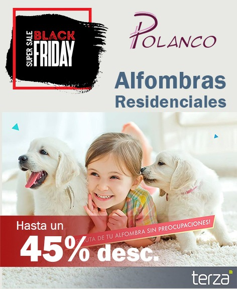 Alfombras Residenciales en black Friday