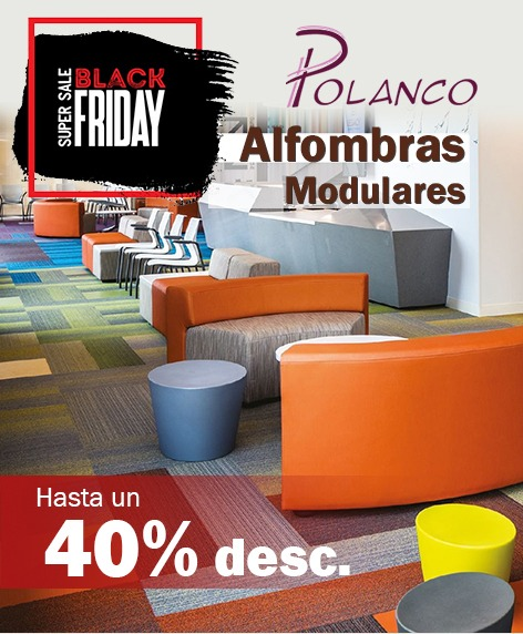 Alfombras modulares en Black Friday
