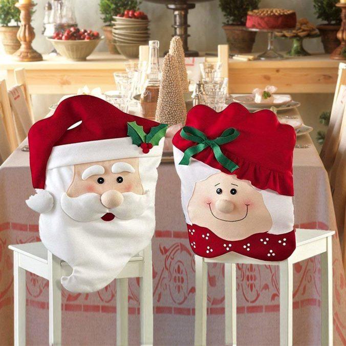 Funda para silla Decorar Navidad 2019