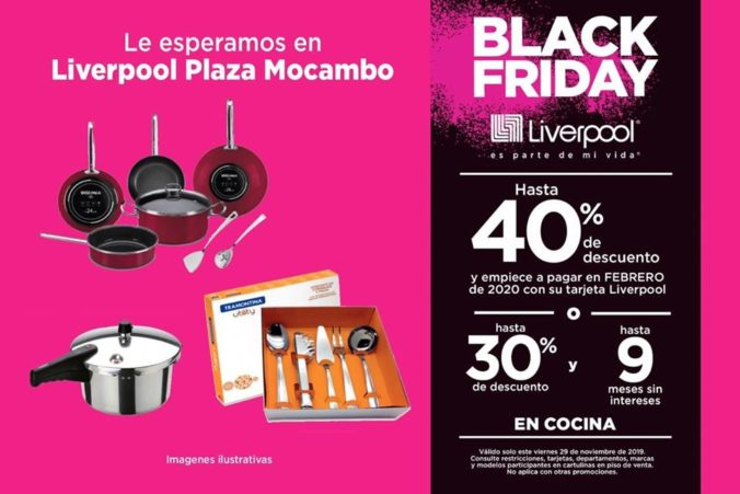 Liverpool Black Friday en Veracruz 2019 Cocinas