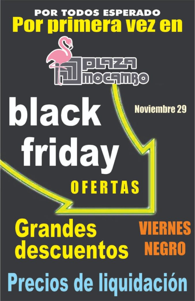 Ofertas de Black Friday en Plaza Mocambo 2019