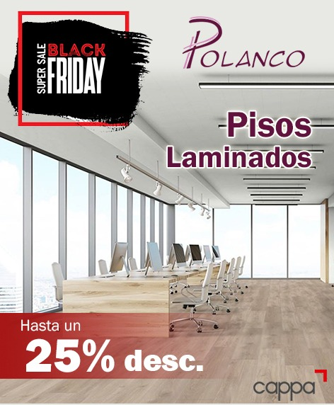 Pisos laminados en Black Friday