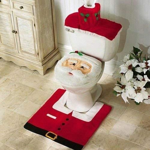 funda navidad baño santa claus