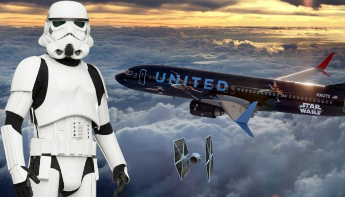 united-star-wars-aviones diciembre 2019