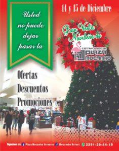 Venta Navideña General Plaza Mocambo