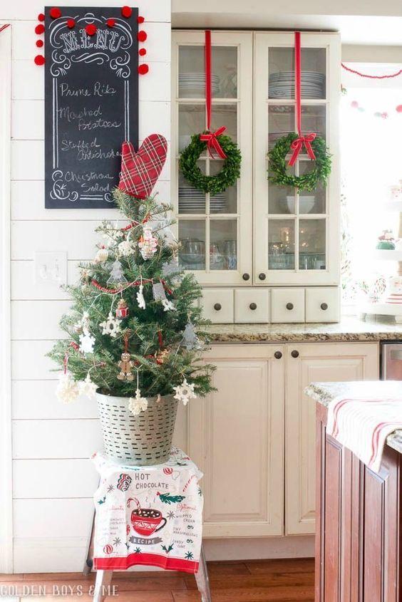 cocinas en navidad decora