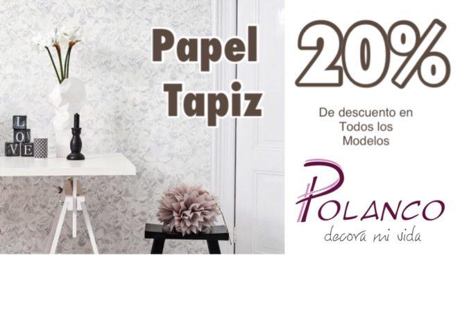 descuento de papel tapiz venta navideña dic 2019