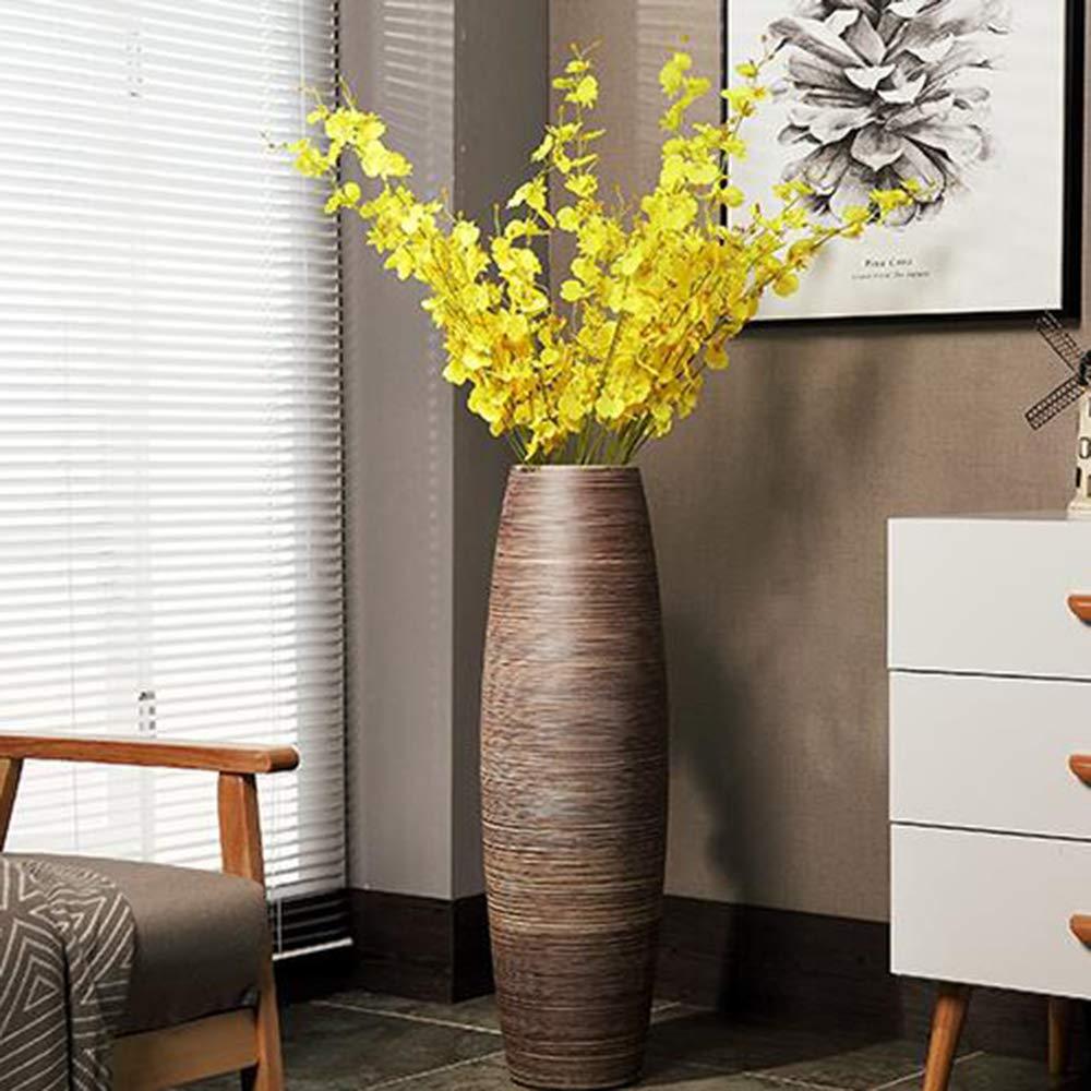 floreros de piso ambiente decorado