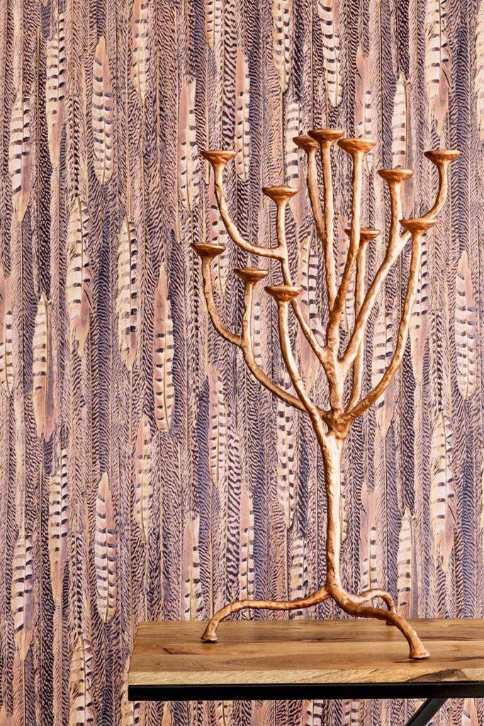 CURIOUS papel tapiz BN pieles de animales