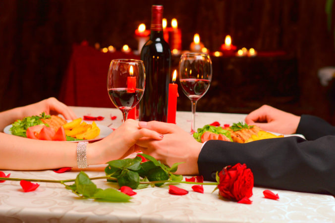 cena romántica en sorteo febrero 2020