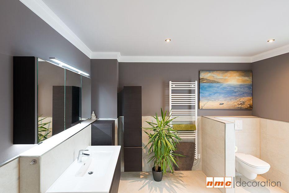 decorando baños con molduras ecológicas