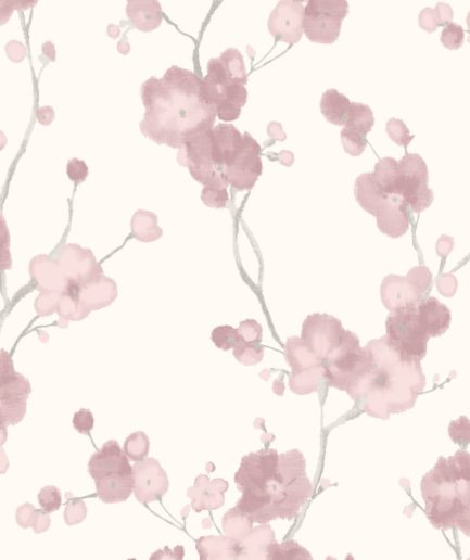 DECO papel tapiz floral CIRCE NA 3104 ROSE