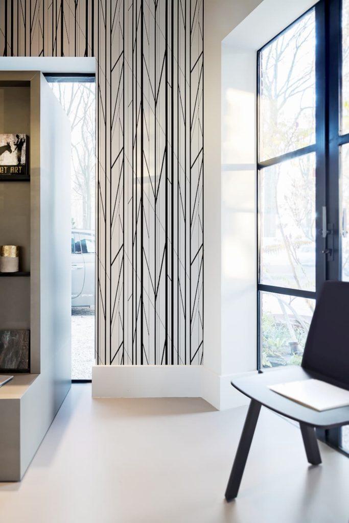 Loft tapiz decorado en ambiente sala