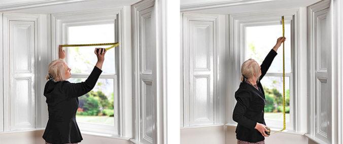 tomar Medidas de persianas ventana para persianas