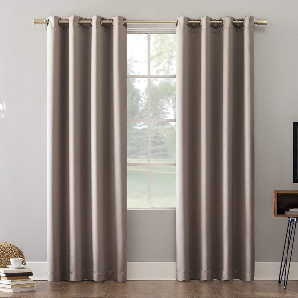 estilos de cortinas tradicionales con ojales