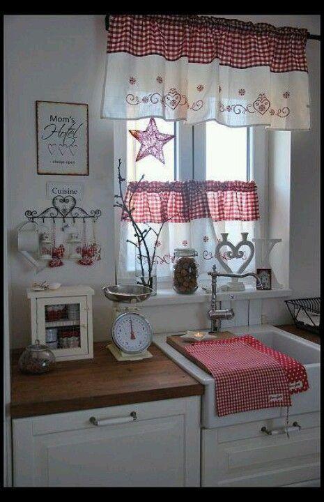 estilos de cortinas tradicionales visillo