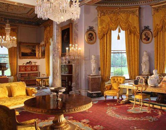 cortinas  castillos y realeza