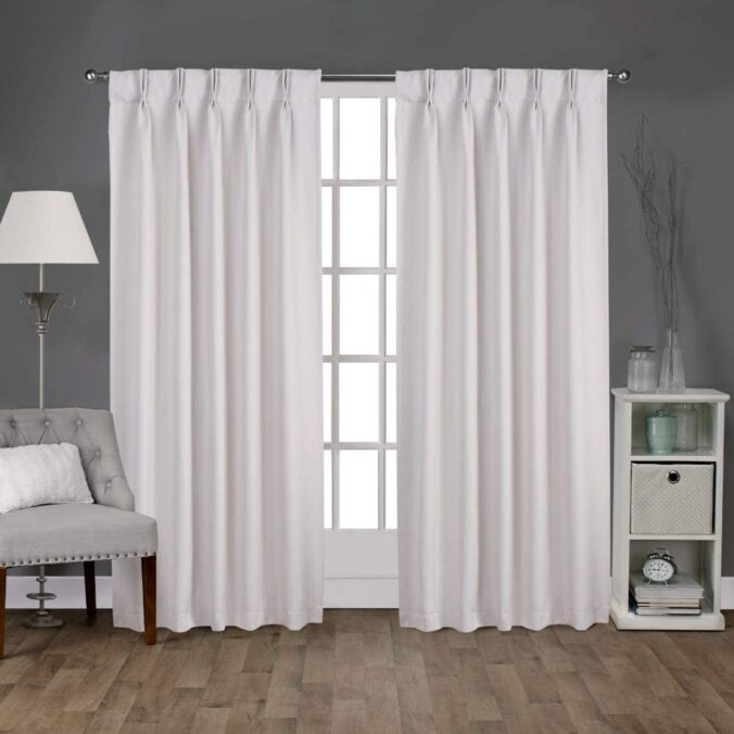 estilos de cortinas tradicionales con pligues