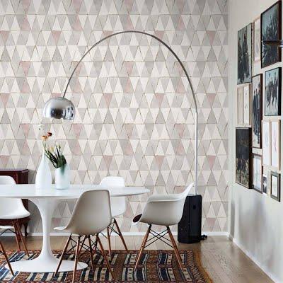 papel tapiz geométrico