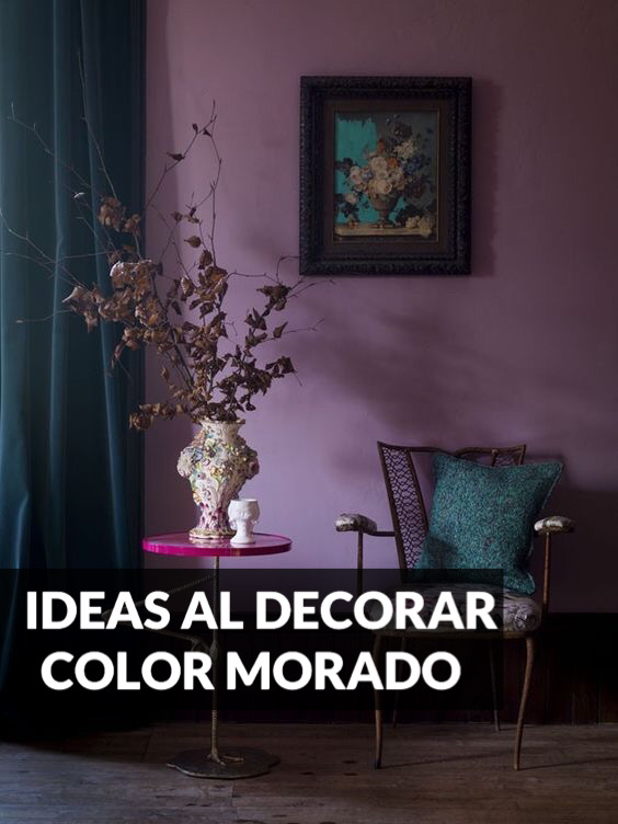 Ideas para Decorar con Color Morado