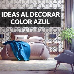 ideas para decorar con color azul