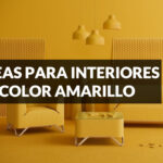 ideas para decorar con colores amarillos interiores