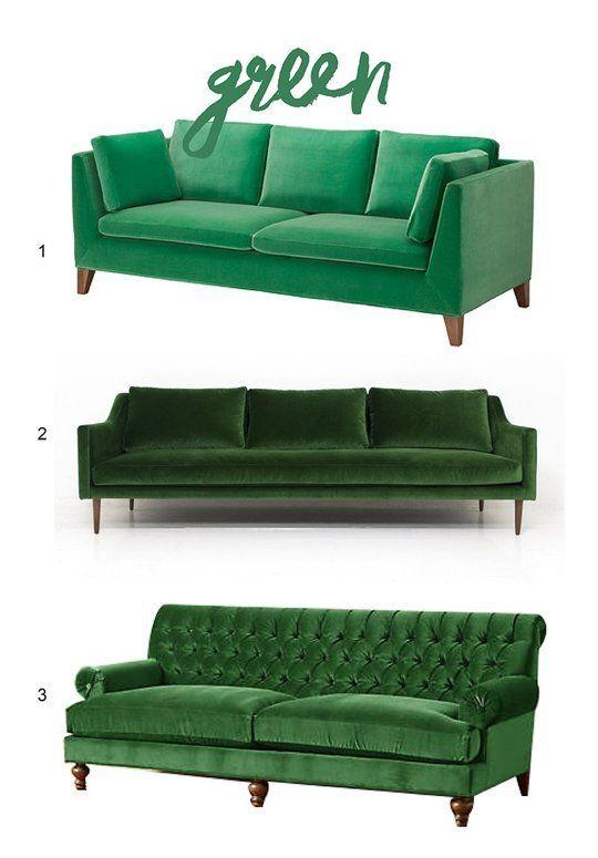 3 diseños y estilos de muebles verdes decorar