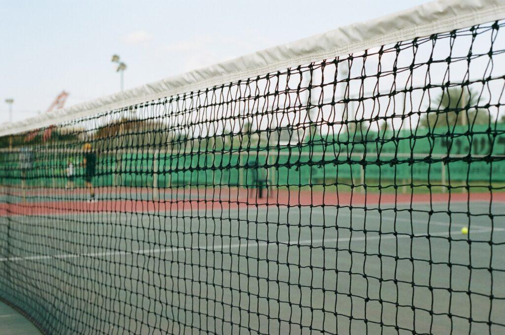 malla fencing canchas de tenis