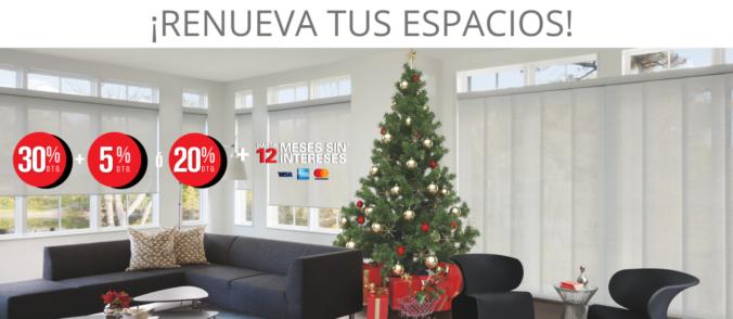 cortinas en diciembre 2020 Banner Promo DICIEMBRE 2020 ultima promo