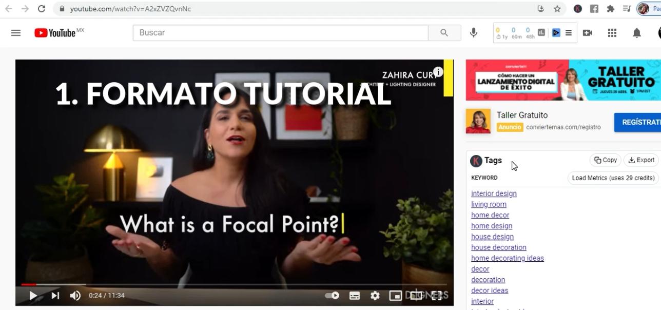 formato tutorial ejemplo mod1 lec 4 youtube